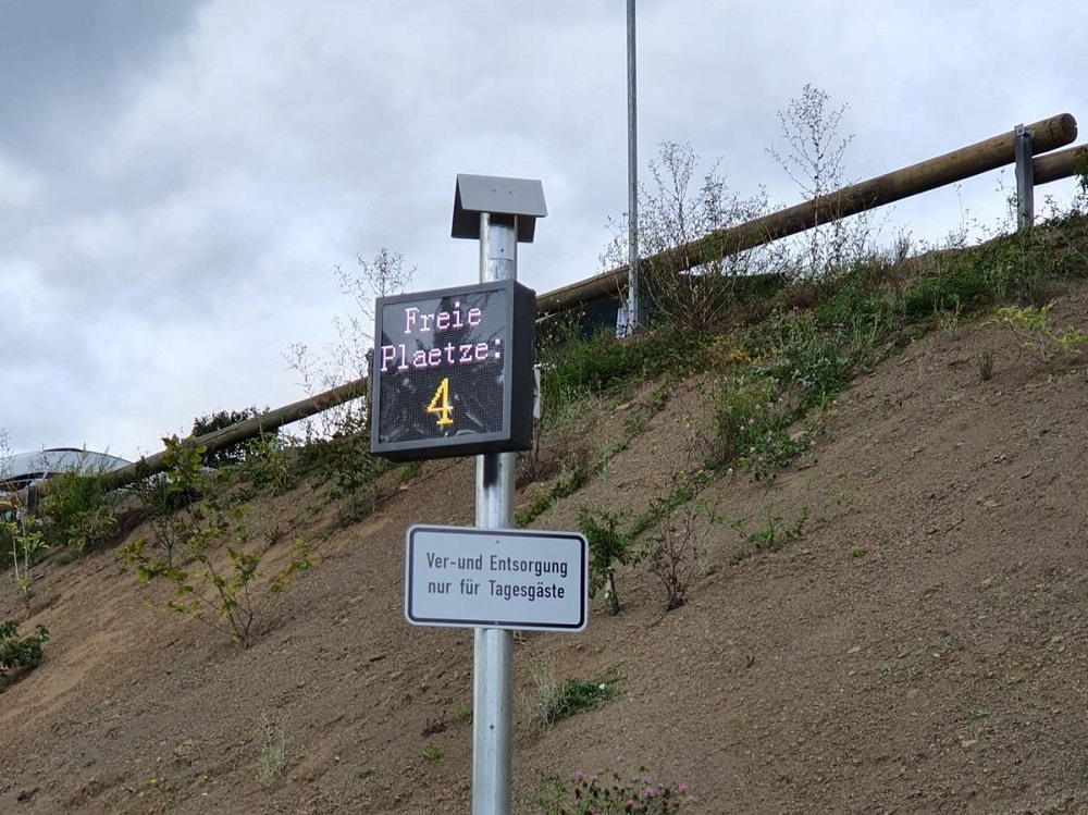 Wohnmobilpark Vulkaneifel Einfahrt
