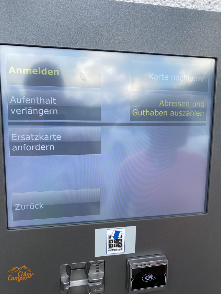 Wohnmobilpark Vulkaneifel Check Out